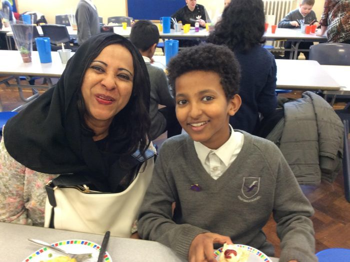 Yassin and mum