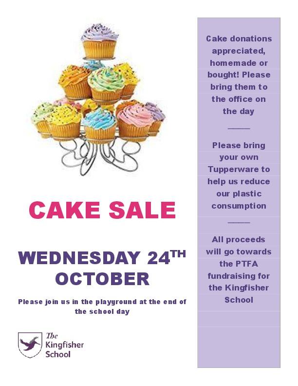 Cake sale poster