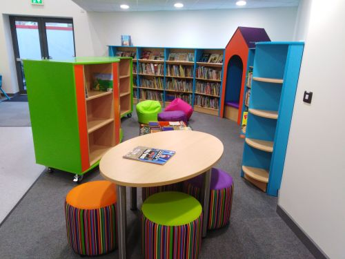 Library group area