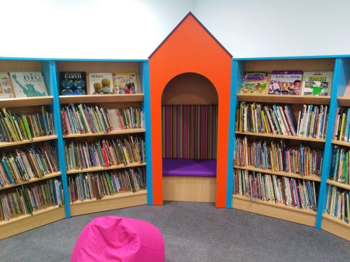 Library cubby hole