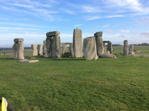 Stonehenge on a sunny day
