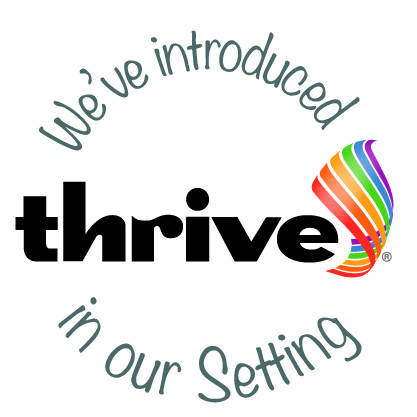 Image result for thrive - introduced logo
