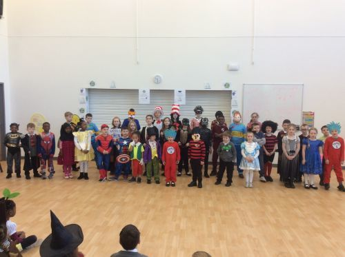 World Book Day Children of The Kingfisher School