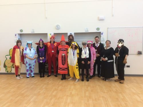 World Book Day Staff of The Kingfisher School