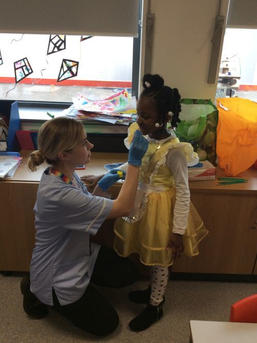Working with the dental nurse