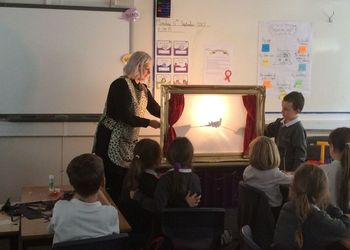Shadow Puppet Workshop Years 3,4 & 5