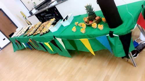 Sports Day Lunch Spread