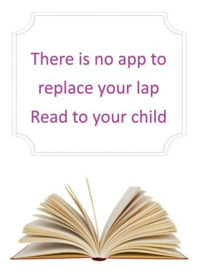 There is no app to replace your lap