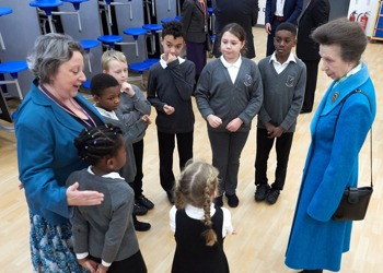 HRH The Princess Royal Opens Our New School Building