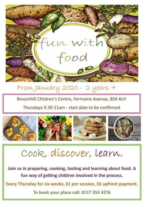 Broomhill Fun with food   Jan 2020