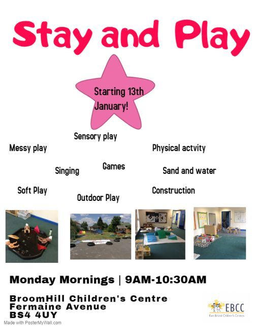 Broomhill STAY AND PLAY