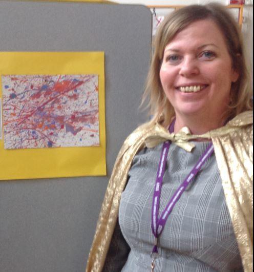 Miss craig with art