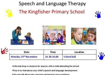 Speech & Language Drop-in Session 13th Nov