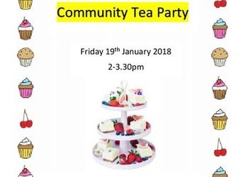 Community Tea Party - 19th January 2018